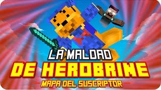 LA MALDAD DE HEROBRINE! | Minecraft Mapa del Suscriptor - Luh