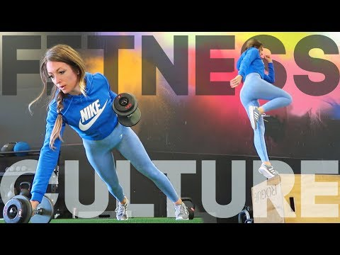 TRYING OUT FITNESS CULTURE + What I Eat In A Day