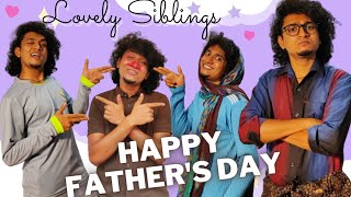 Lovely Siblings - Father's Day Special / Malayalam Vine / Ikru