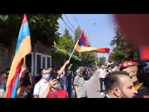 Стычка между армянами и азербайджанцами в Кишиневе