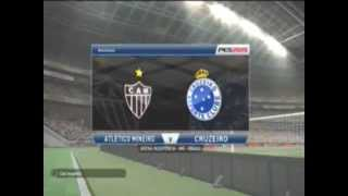 PES 2015 XBOX 360 - Galo x Cruzeiro GAME PLAY  Jog