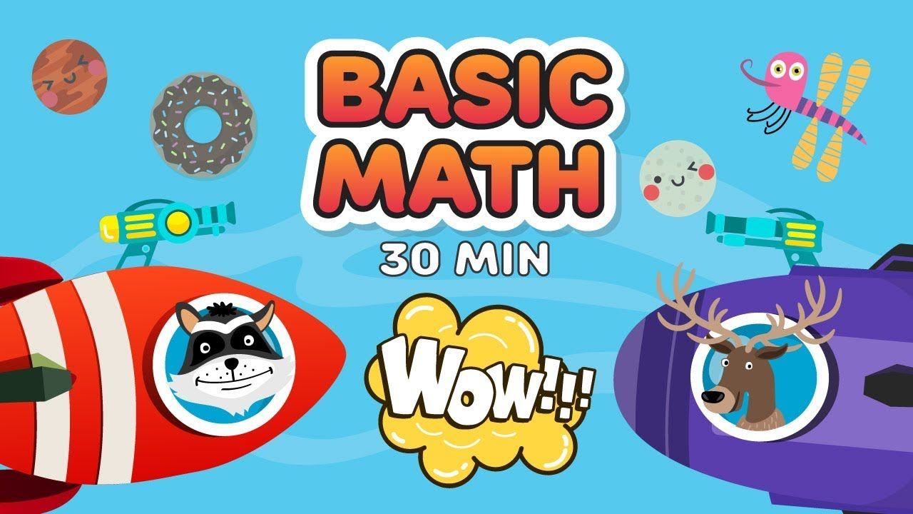Mathematics For Class 1 | Learn Maths For Kids | Maths Made Easy ...