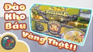 Đào kho báu Treasure X được VÀNG THẬT Mùng 1 Tết may mắn cả năm ToyStation 324