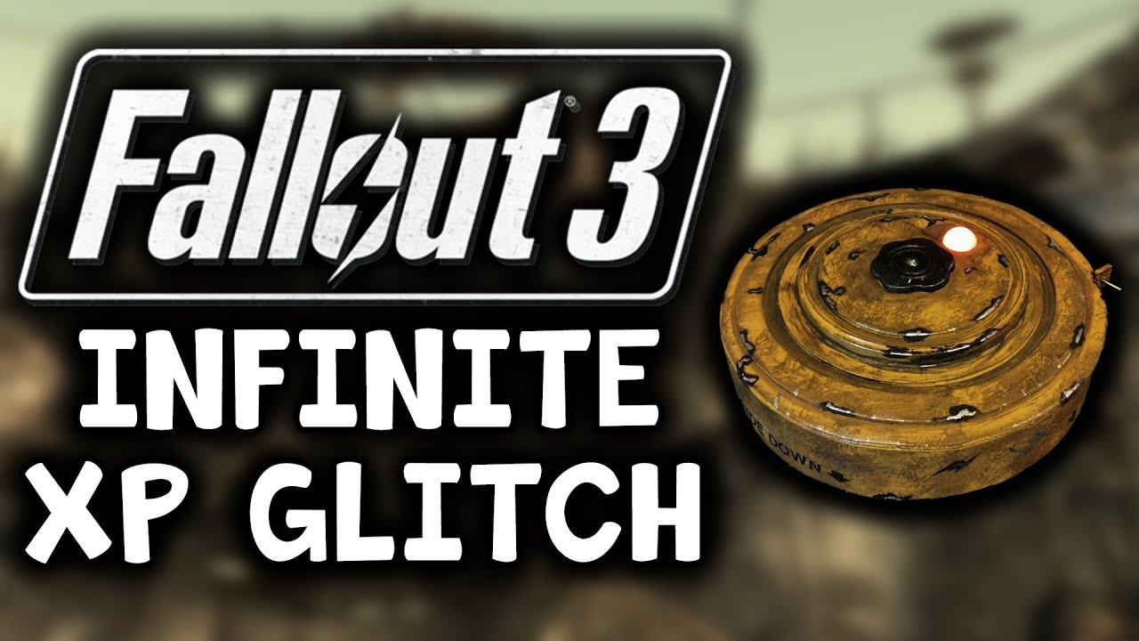Fallout 3 - Best Infinite XP Glitch [STILL WORKS] Max Level Easy - Guide