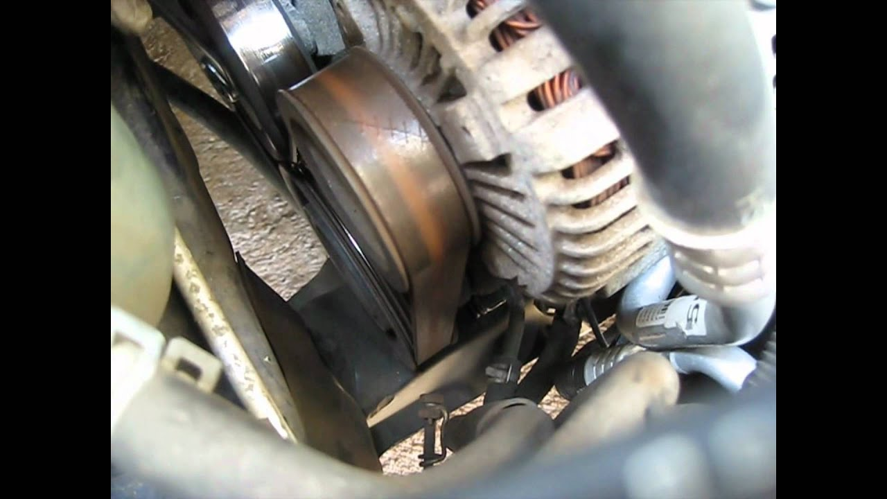 Serpentine Belt How To Remove Or Replace 2000 Acura Tl