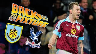 BACK TO THE FIXTURE | LIVE COVERAGE | Burnley v Crystal Palace 2016/17