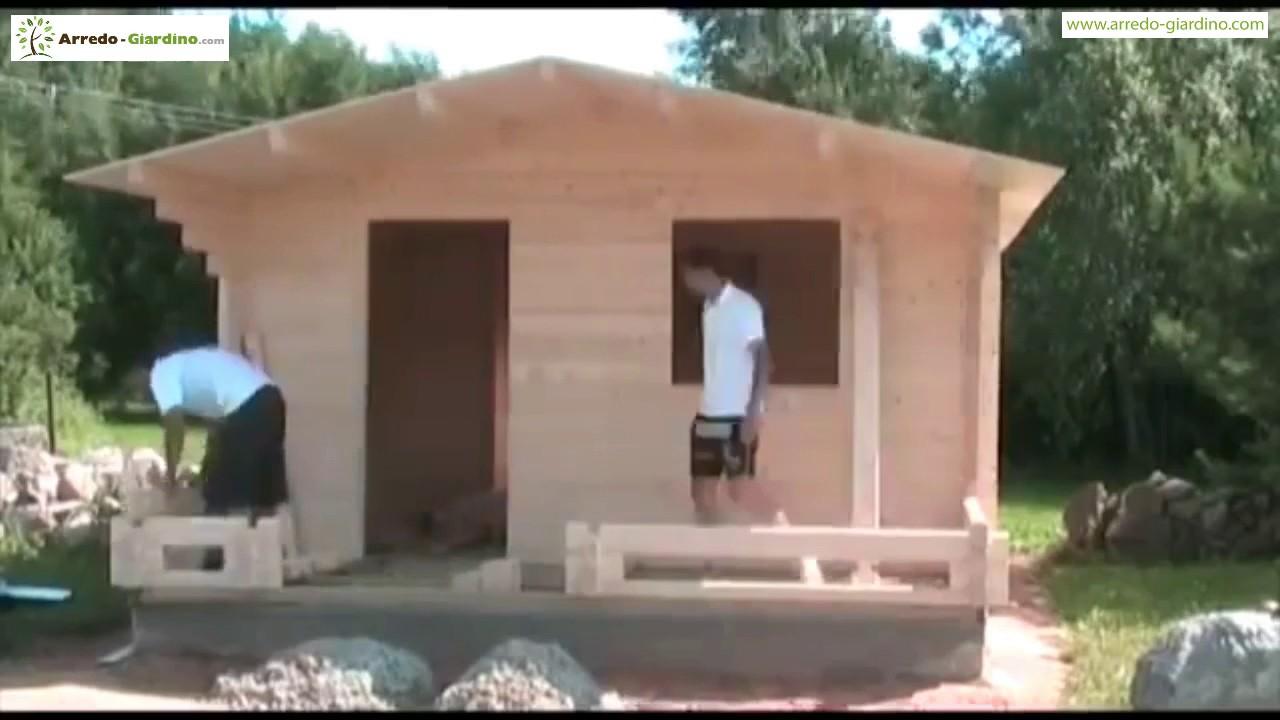 Installazione casa prefabbricata in legno  YouTube