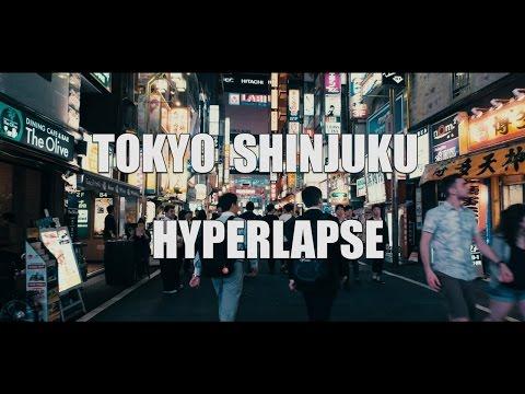 Panasonic GH4 (TOKYO SHINJUKU HYPERLAPSE) Zhiyun Crane