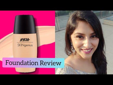 Nykaa Foundation Review | Nykaa skinGenius Foundation | How to apply foundation?