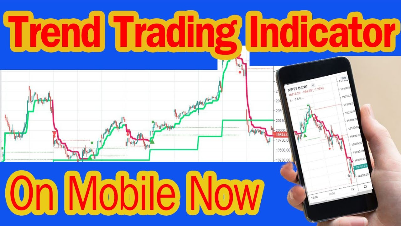 Trend Trading Indicator On Mobile Tradingview Apps - YouTube