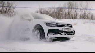 Тест-драйв Volkswagen Tiguan Sportline 2,0 TSI (220 л.с.) DSG-7 4-Motion