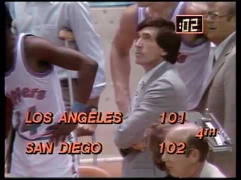 1979 80 Lakers @ Clippers pt  10 1