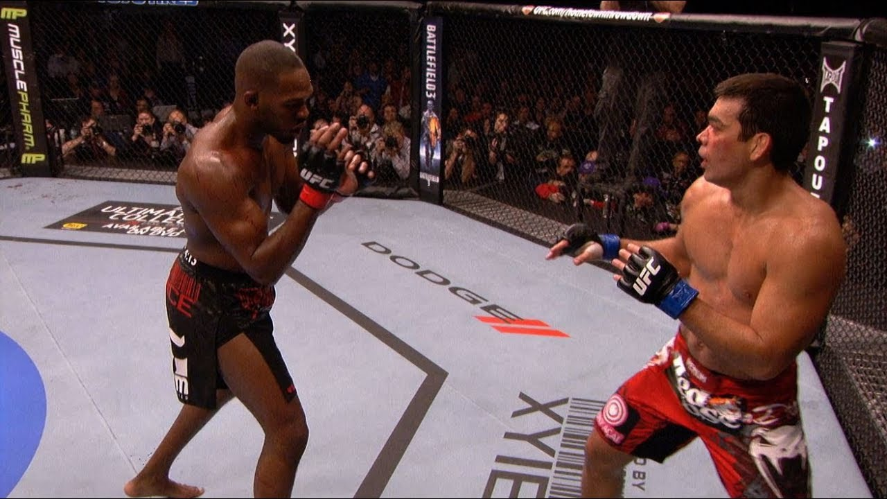 Jon Jones Top 5 Finishes - YouTube