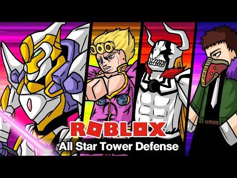Roblox : All Star Tower Defense #23 รีวิวช้าเกมมิ่ง (แปลงร่างเป็นหุ่นยนต์, Giorno, Overhaul, Ichiko)