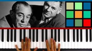 "How To Play ""My Favorite Things"" Piano Tutorial (Rodgers and Hammerstein)"