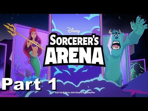 Disney Sorcerer's Arena - Glu Games Inc - HD 1080p Part 1 Gameplay Trailer iOS / Android