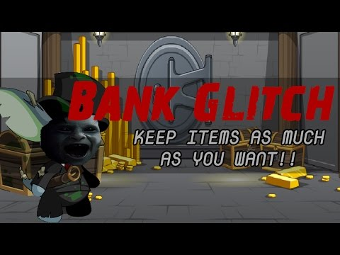 [AQW] Infinite Bank Space Glitch!