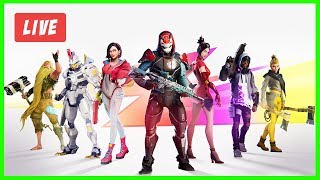 Fortnite CODE koringa013 playing with subscribers #rumo7k a livefeed Live! Menu/385