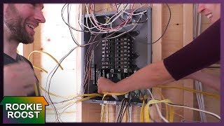 Tiny House Electrical Panel!