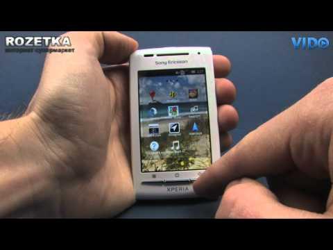 Смартфон Sony Ericsson X8