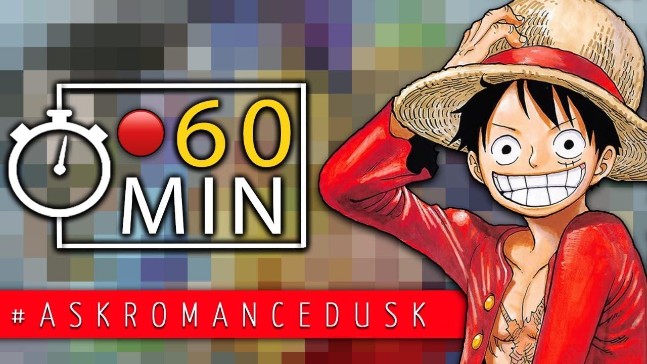 60 Minuten One Piece Live Q&A - Stellt mir eure Fragen!! #askromancedusk