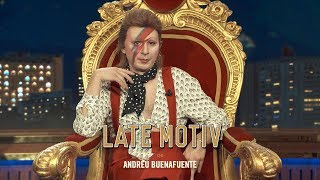 """late motiv berto romero es david bowie en """"cantantes muertos"""" latemotiv405"""