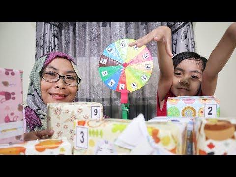 Mystery Wheel of Kotak Surprise Challenge | Real Food and Fake Food