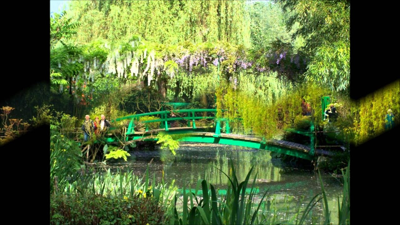maison et jardins de monet giverny youtube. Black Bedroom Furniture Sets. Home Design Ideas