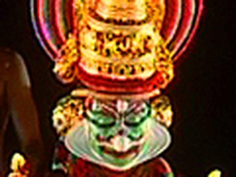 Lord Shiva in Kutiyattam performed by Kalamandalam Sivan Namboodiri