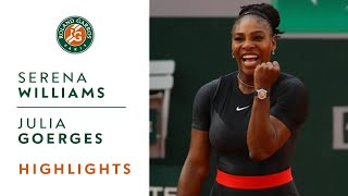 Serena Williams vs Julia Goerges - Round 3 Highlights I Roland-Garros 2018