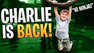 Hi Ninja! - Charlie Is Back! ft. Ninja, SypherPK, and Nate Hill!