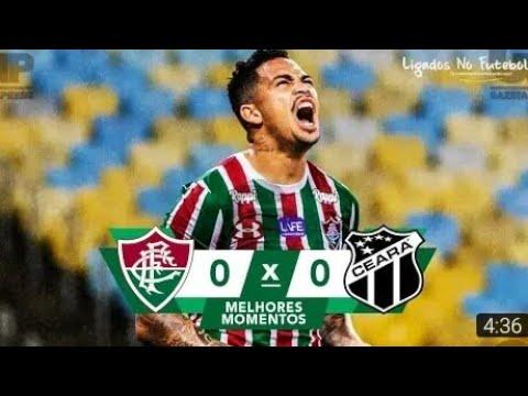Fluminense 0 x 0 Ceará | Melhores Momentos & gols (HD) - 19/11/2018 - Brasileirão .