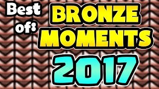 Overwatch Best Bronze Moments Compilation - 2017
