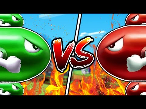 MINECRAFT RED VS GREEN MISSILE WARS