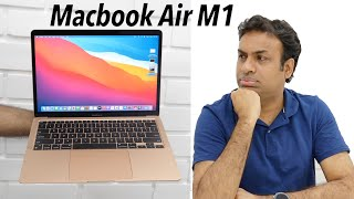 MacBook Air M1 Unboxing Initial Impressions & Editing (Retail Indian Unit)