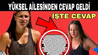 Survivor Ayşe'nin Ailesinden Aleyna Kalaycıoğlu Ailesi İçin Flaş Açıklama Gecikmedi!