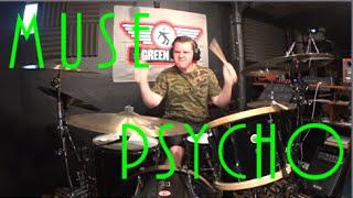 Muse - Psycho - Drum Cover by Rex Larkman