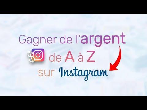 Comment gagner de l'argent avec Instagram ! [ Guide de A à Z ]