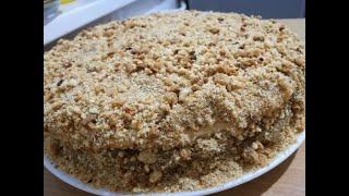 Торт Медовик с заварным кремом   классический рецепт