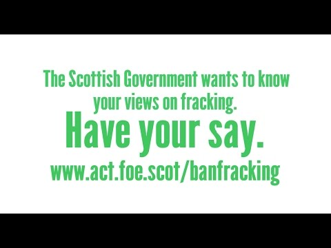 Have your say on fracking