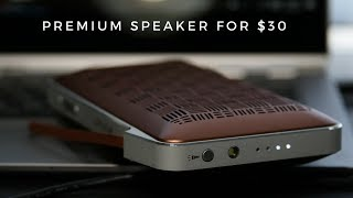 Slim Bluetooth Speaker With Lights amp Power Bank - Anonsuo Wallet Speaker Review