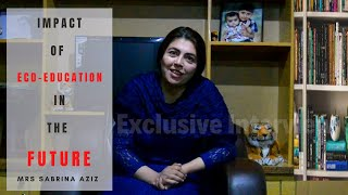 IMPACT OF ECD EDUCATION   EXCLUSIVE INTERVIEW OF MRS.SABRINA AZIZ   OFFICIAL VIDEO  PAMIR TELEVISION