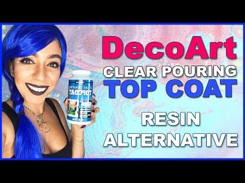 DecoArt Clear TOP COAT - Resin Alternative