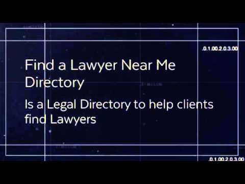 Find a Lawyer Near Me Directory | Lead Generation