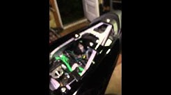 How to lock your helmet to 09-12 zx6r!