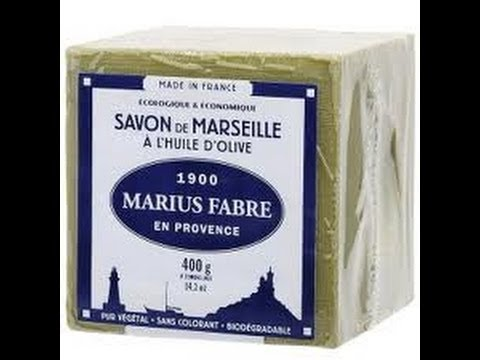 SAVON DE MARSEILLE ET SAVONS PARFUMES  Marius Fabre