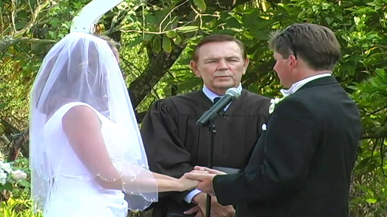 Wedding Ceremonies By Judge Thomas R Adams