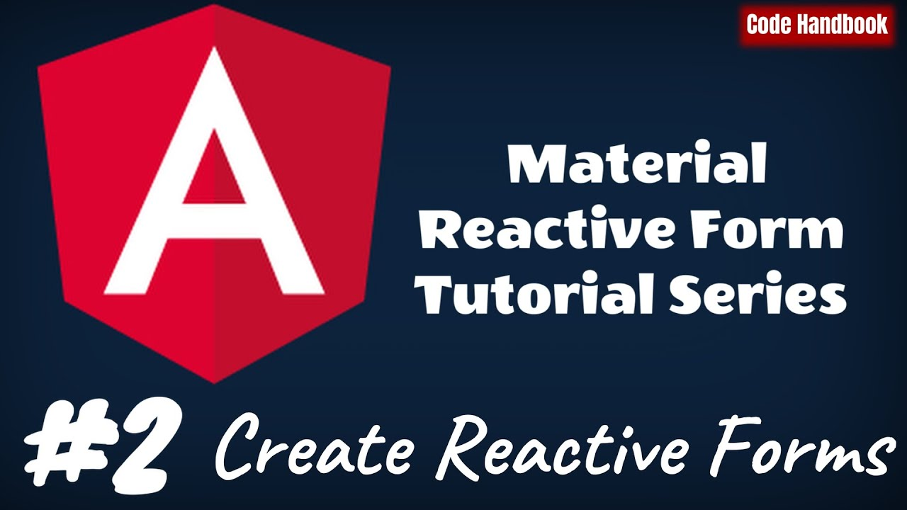 How To Create Angular Material Reactive Forms