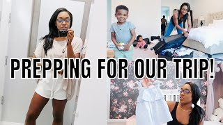 VLOG: DAY IN THE LIFE | Toddler Girl Clothing Haul + Shopping & Packing for 30A | Krista Bowman Ruth