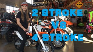 Megan Griffiths: Should you buy a two stroke or a four stroke?